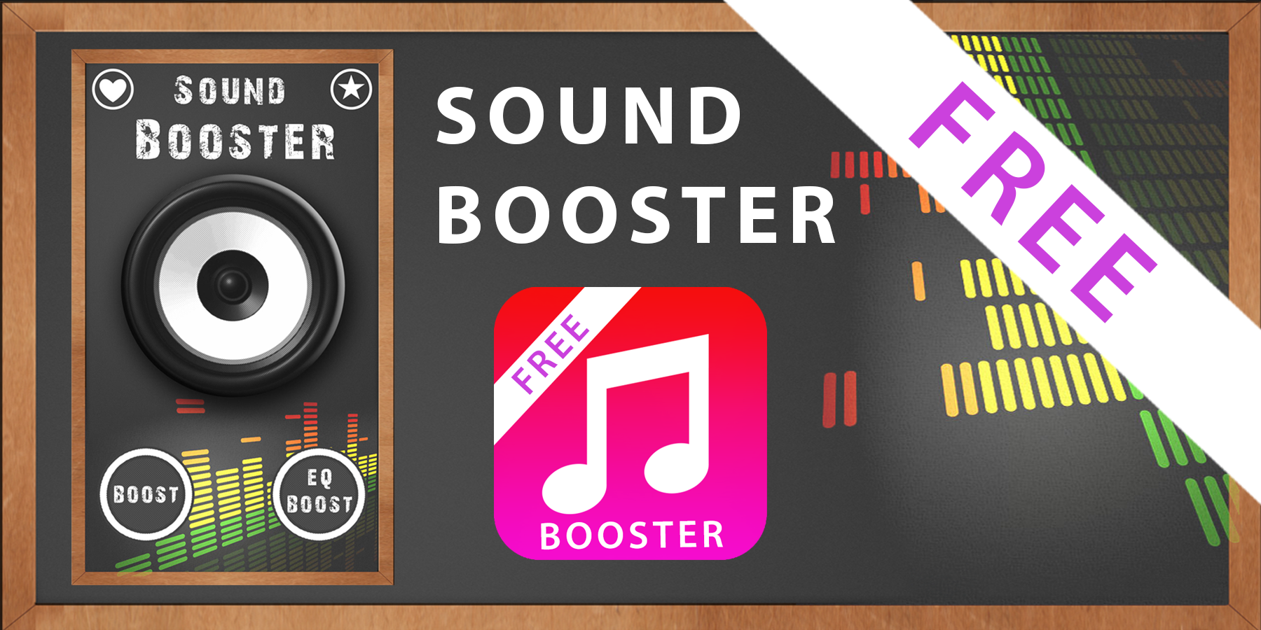 sound volume booster android apps on google play. Black Bedroom Furniture Sets. Home Design Ideas