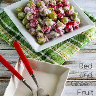 Red and Green Fruit Salad.