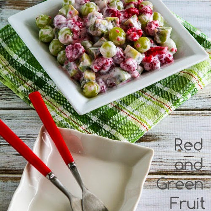 Red and Green Fruit Salad Recipe