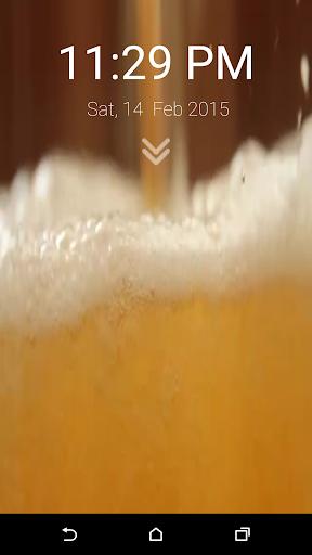 啤酒锁屏免费