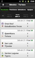 Screenshot of Univision Marcador