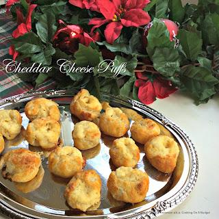 Cheddar Cheese Puffs Recipe