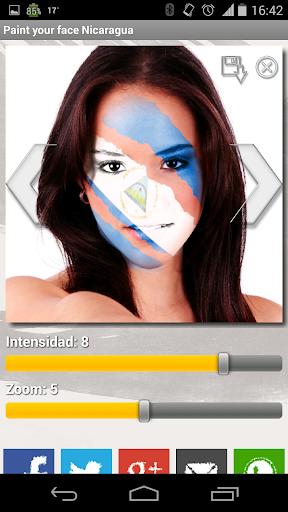 玩運動App|Paint your face Nicaragua免費|APP試玩