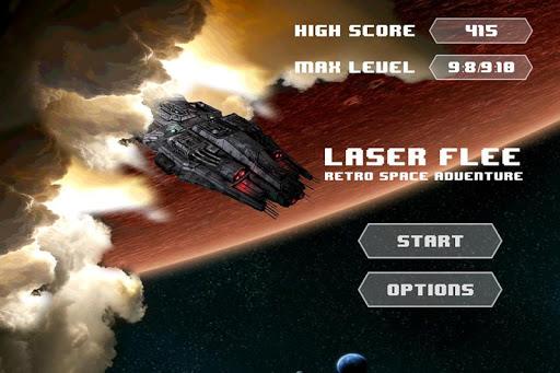 Laser Flee - Retro Spaceship