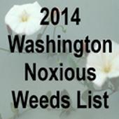 Washington Noxious Weeds 2014