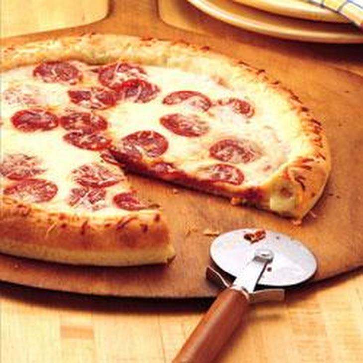 Stuffed-Crust Pizza Recipe