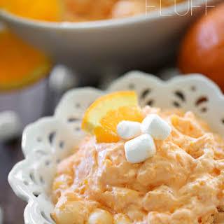Orange Jello Fluff.