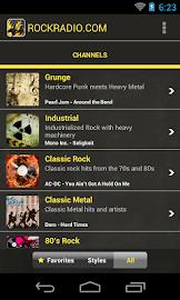 Rock Radio Screenshot 1