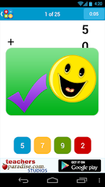 Math Practice Flash Cards Screenshot 4