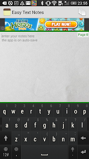 Easy Text Notes - screenshot thumbnail