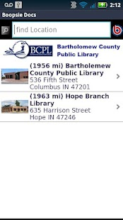 Bartholomew Co Public Library - screenshot thumbnail