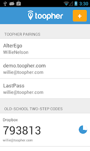 Toopher - screenshot thumbnail