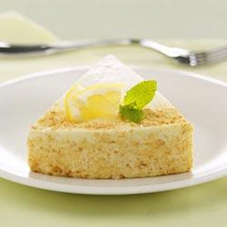 Low-Fat Lemon Souffle Cheesecake.