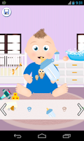 Screenshot of baby dress up games