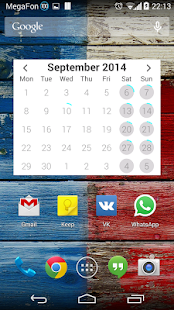玩個人化App|Neon Calendar Widget免費|APP試玩