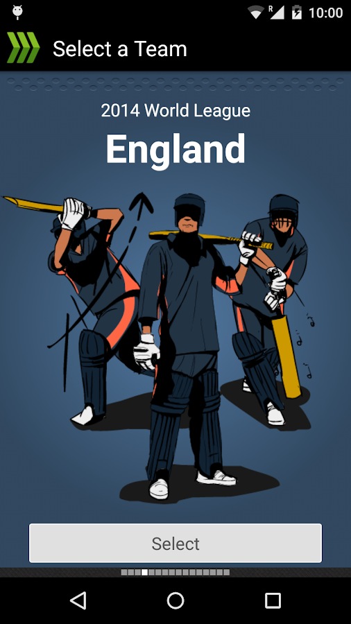 HW World Cup Cricket Game 2015 - screenshot