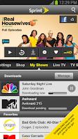 Screenshot of SprintTV & Movies Galaxy Nexus