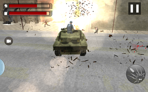 Commando Attack:Tank Rampage