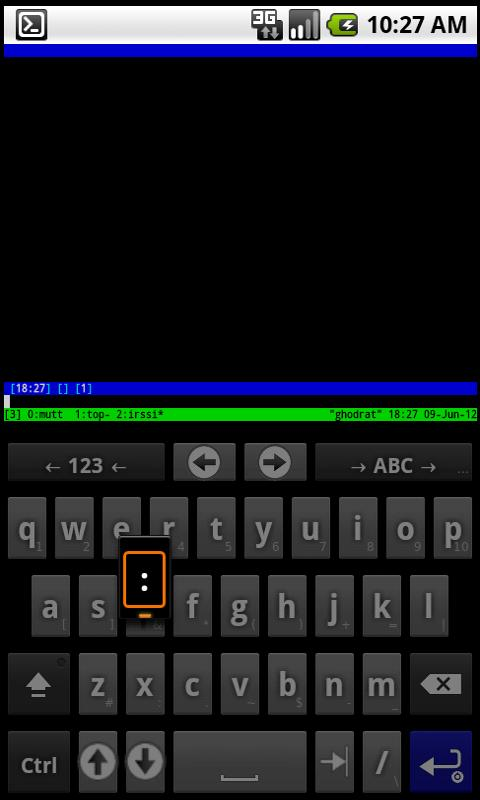 SSH for AnySoftKeyboard- screenshot
