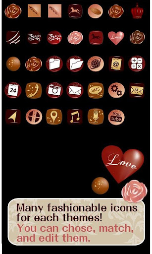 Cute Wallpaper Chocolate Love 1.0 Windows u7528 4