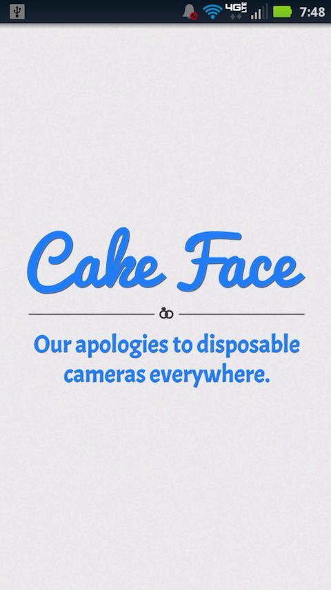 Cake Face- screenshot