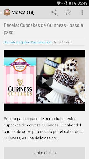 Cupcakes Recetas
