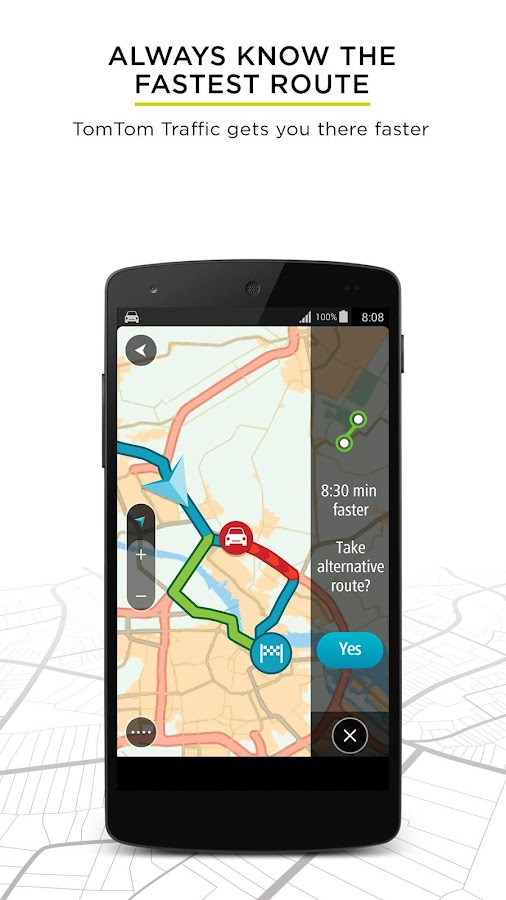 tomtom gps navigation traffic android apps on google play. Black Bedroom Furniture Sets. Home Design Ideas