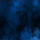 Evil Blue Keyboard Skin