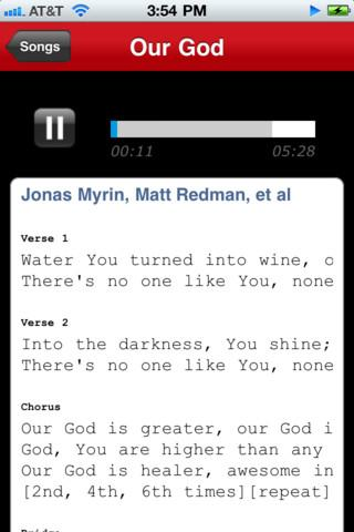 WorshipTeam.com - screenshot