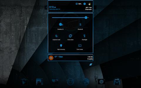 SteelBlue CM11 & CM12 Theme v1.0.0