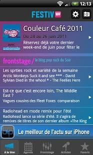 Festiv'App- screenshot thumbnail