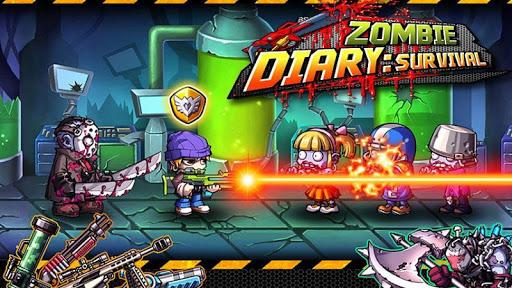 【免費街機App】Zombie Diary-APP點子