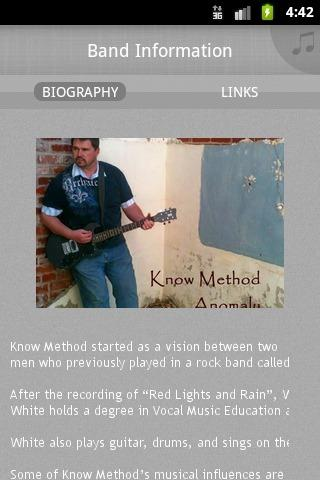 Know Method - screenshot
