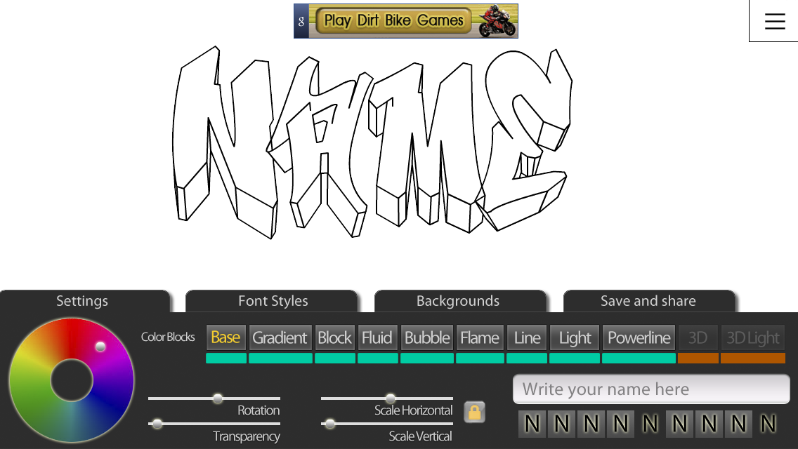 Graffiti Creator Positivos- screenshot