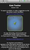Screenshot of Gps Tracker Gate