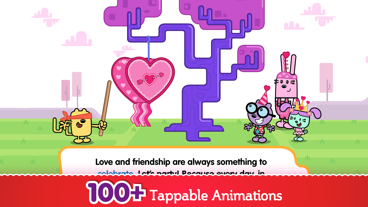 Wubbzy Loves You - screenshot