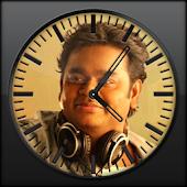 A R RAHMAN Clock Widget