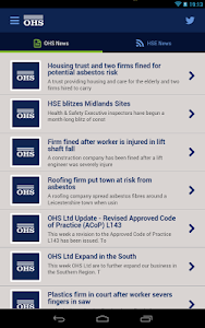 OHS Health & Safety PocketApp screenshot 4