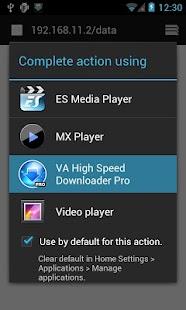 VA High Speed Downloader Pro- screenshot thumbnail