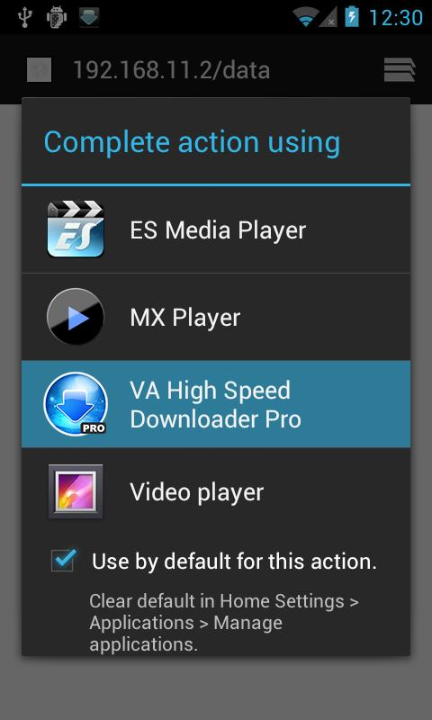 VA High Speed Downloader Pro - screenshot