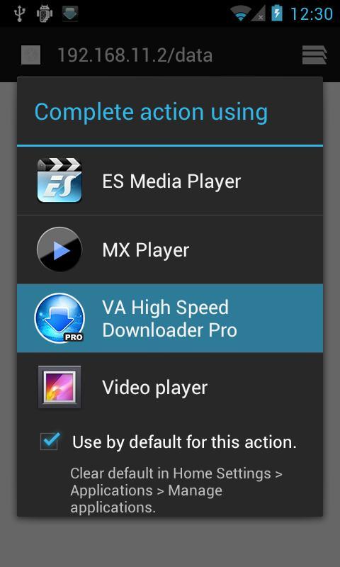 VA High Speed Downloader Pro- screenshot