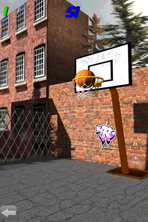 3D Basketball Shootout - screenshot