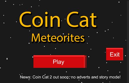 Coin Cat Meteorite