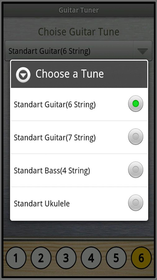 Free Guitar Tuner- screenshot