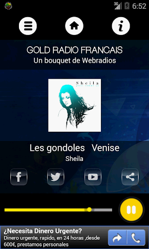 Gold Radio - Bouquet Webradios