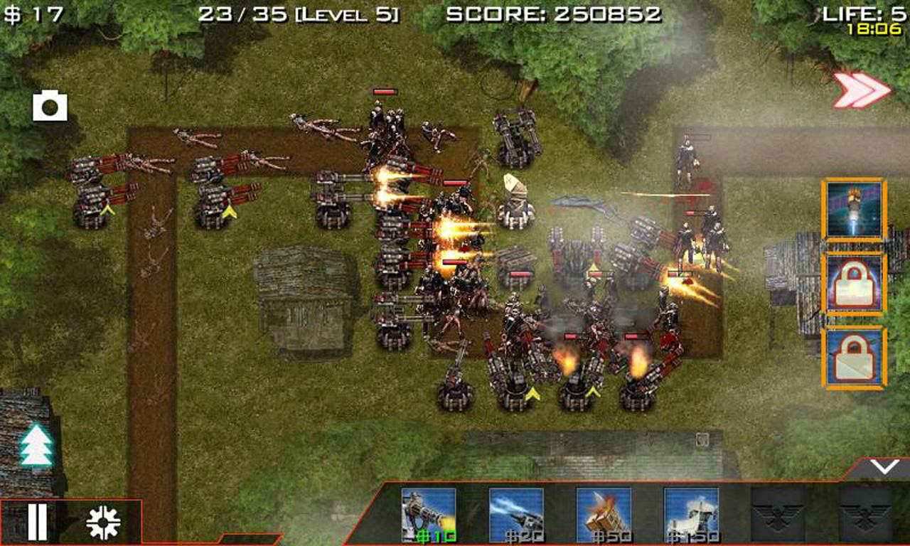 Global Defense: Zombie War- screenshot