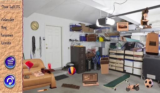 Hidden Objects Messy Garage
