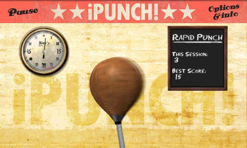 iPunch!- screenshot