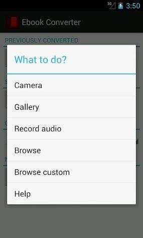 Ebook Converter Screenshot