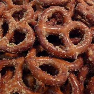 Marinated Pretzels.